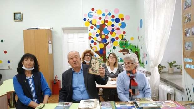 Форум «Крымскотатарская книга» проведен для библиотечных специалистов Судака