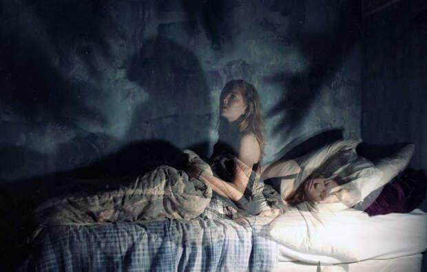 Странная ночная тварь вела себя как насильник