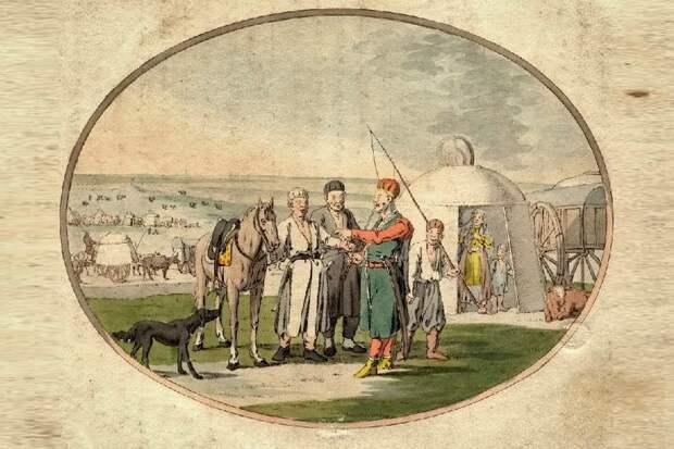 Ногайские татары в начале XIX века.