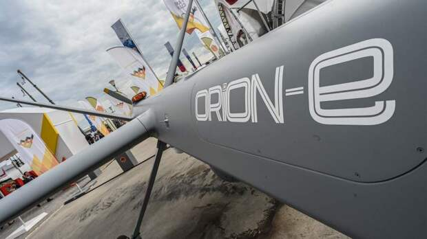 Беспилотный летательный аппарат (БПЛА) большой продолжительности полета из состава разведывательно-ударного комплекса «Орион-Э»