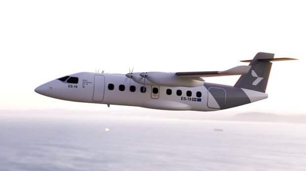 ES-19 - электрический пассажирский самолет из Швеции
