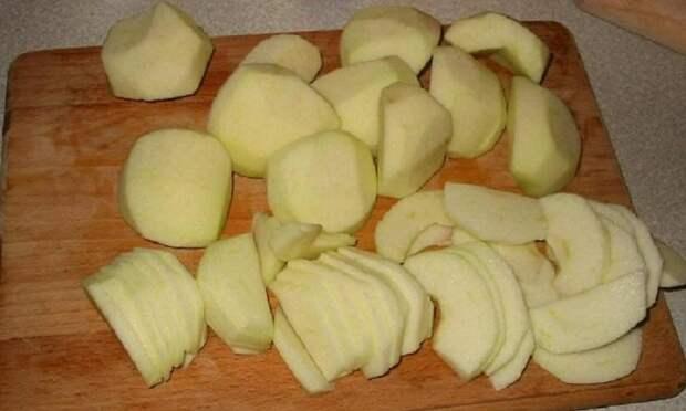 Творожные платочки с яблоками - вкусно, просто и полезно!