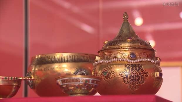 Во Владивосток приехала часть коллекции Московского Кремля