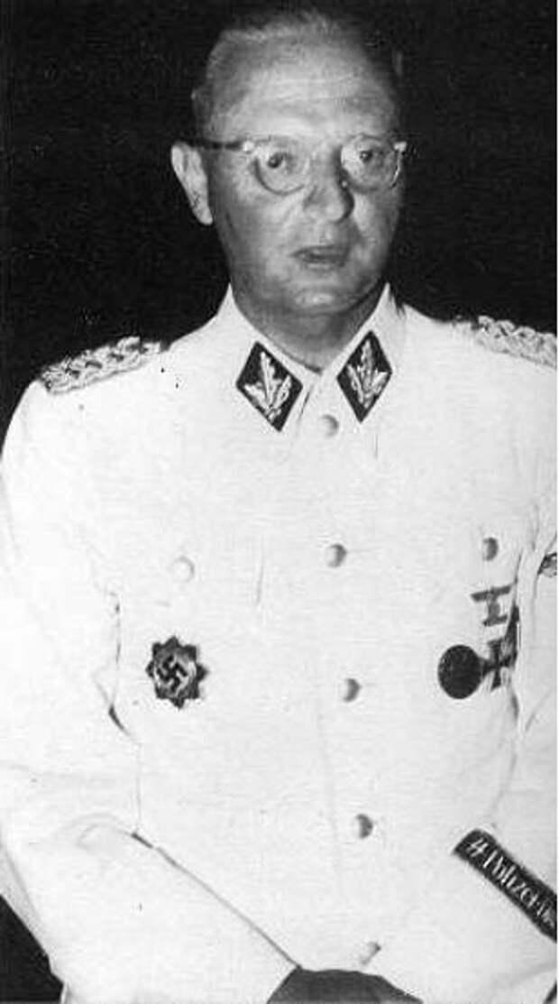 SS-Brigadeführer and German Cross in Gold Holder Fritz Schmedes