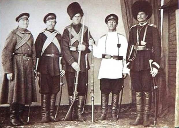 Семиреченские казаки.