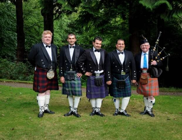 Ношение шотландского килта регулируется законом. /Фото: travelask.ru