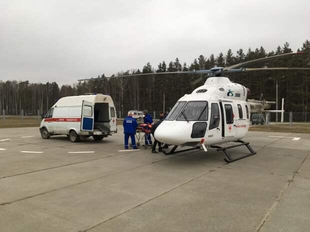 Нижегородский территориальный центр медицины катастроф награжден почетной грамотой заразвитие санитарной авиации