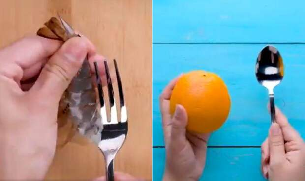 9 простых способов почистить различные продукты в одном полезном видео