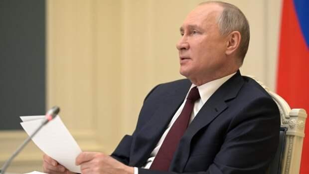 Путин примет верительные грамоты иностранных послов