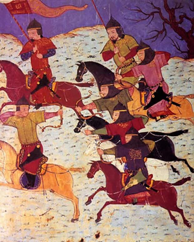 Монгольское иго.
