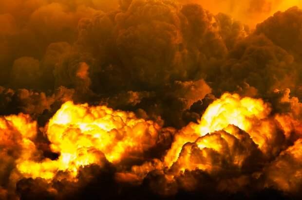 В Сербии произошел взрыв на складе боеприпасов