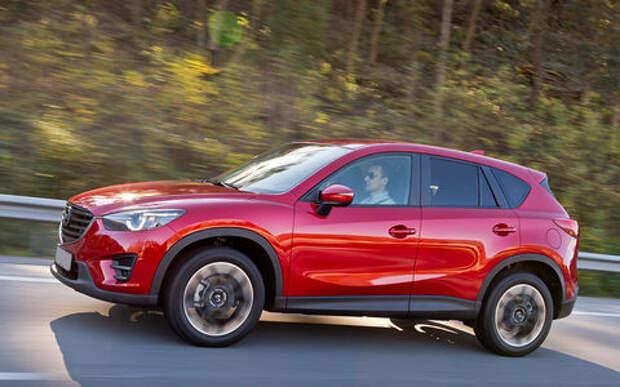 В России отзывают кроссовера Mazda CX-5