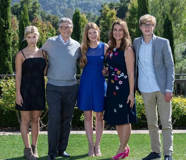 Сколько денег оставят своим детям Билл и Мелинда Гейтс?