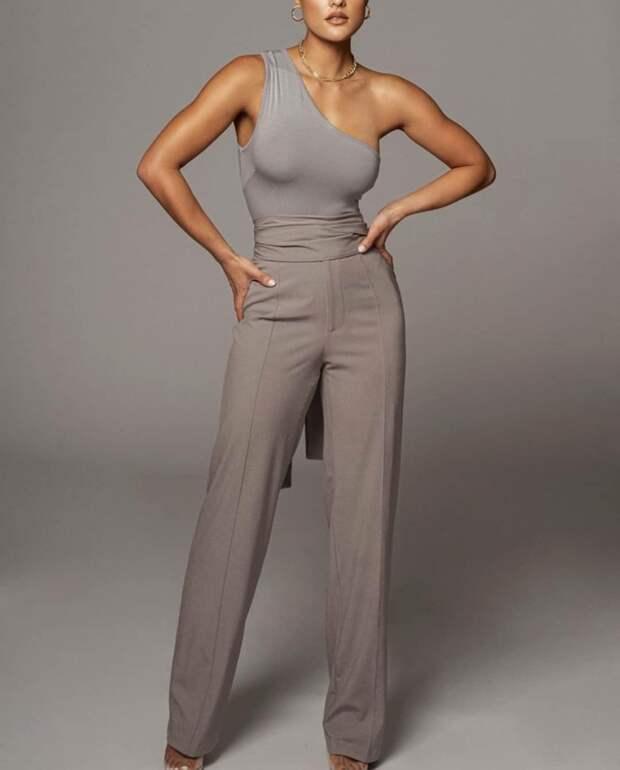 Серые брюки – 12 самых стильных и универсальных идей