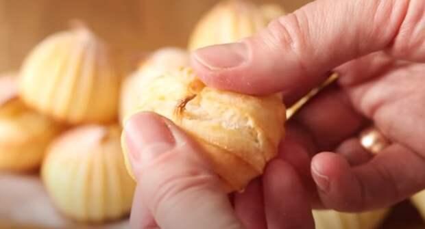Вы удивитесь, как просто, и крем  не нужен. Сладкое, заварное печенье: бюджетно и вкусно