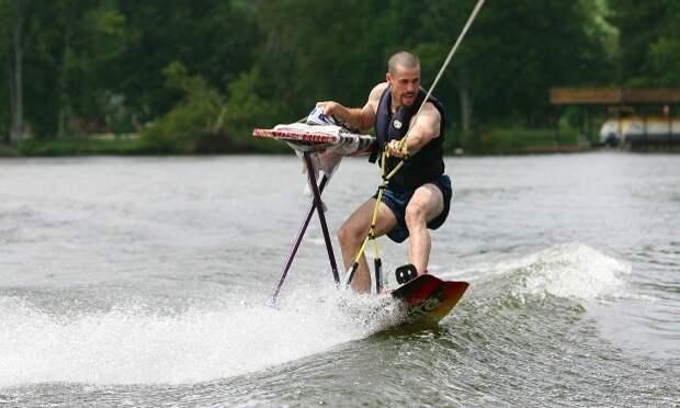3 факта о самом диком виде спорта — экстремальной глажке на высоте и под водой