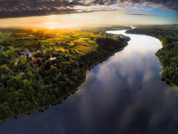 Сказочная и такая разная Литва с высоты птичьего полёта