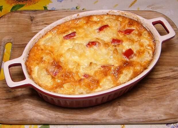 Вкусная и нежная запеканка из цветной капусты с курицей: прекрасный ужин для всей семьи!