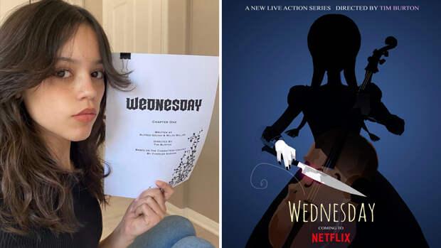 Найдена актриса на роль Уэнсдэй в сериале Тима Бертона по «Семейке Аддамс»