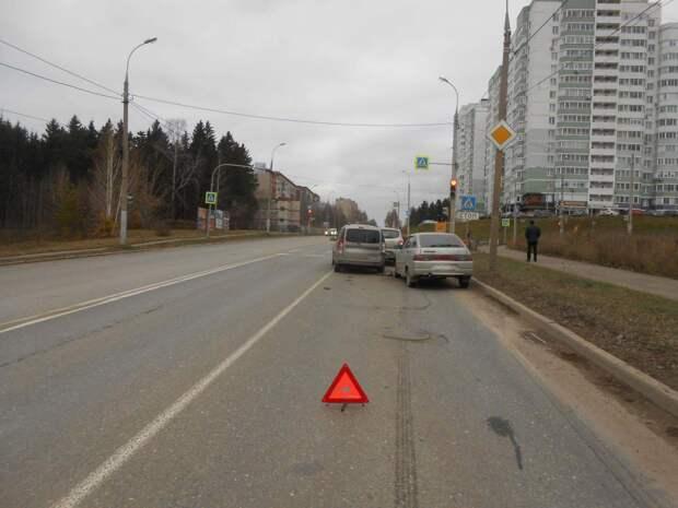 Пьяный водитель устроил тройное ДТП в Ижевске