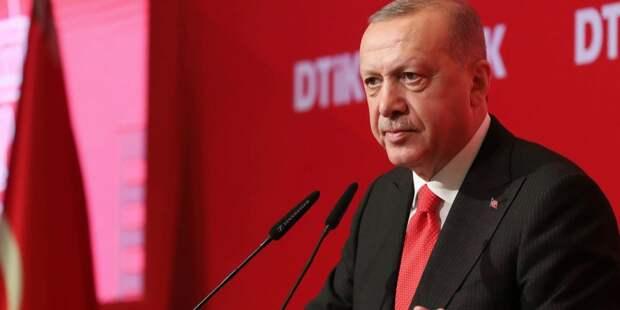 Эрдоган готов поддержать Палестину
