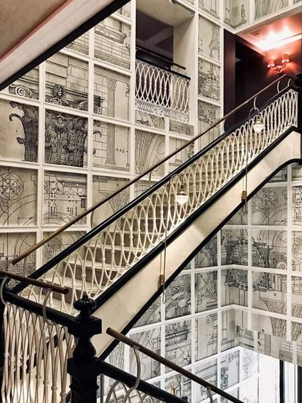 Бутик-отель в Валенсии. Обои Wall&Deco