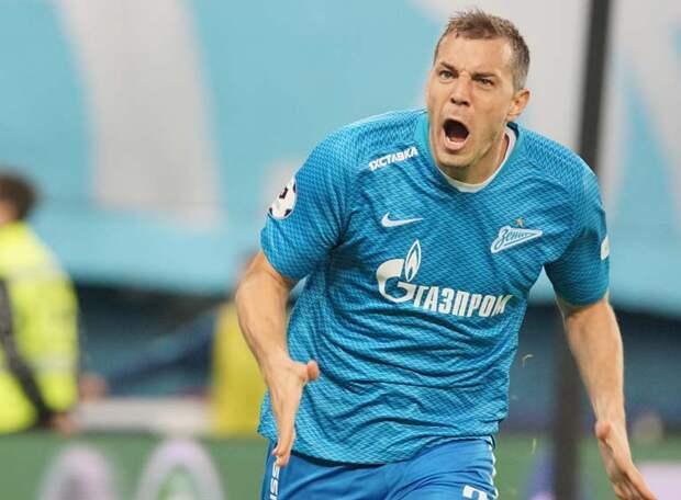 Дзюба в матче «Зенит» - «Динамо» обогнал Азмуна и укрепил свои позиции в истории