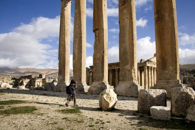 руины храма Юпитера