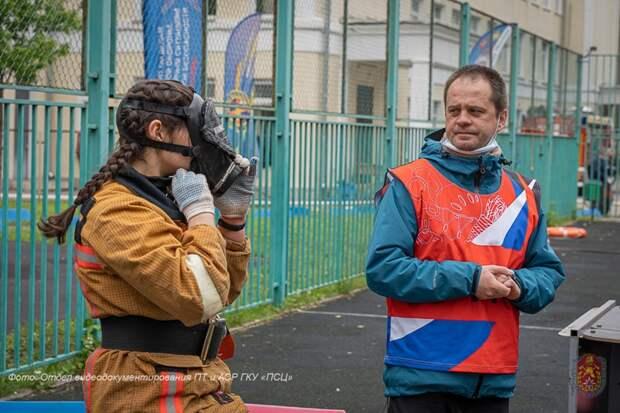 Школа №709 заняла 2 место в Московских городских соревнованиях «Школа безопасности» 2021 года
