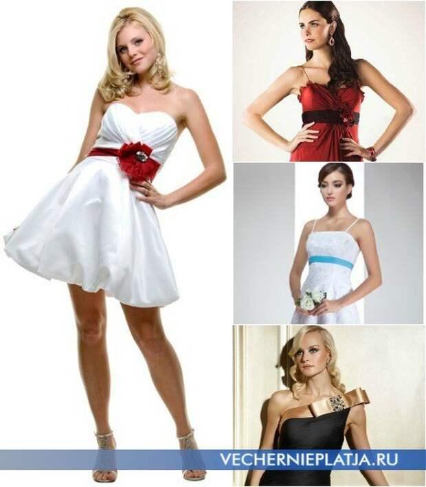 Пять способов украсить простое платье своими руками
