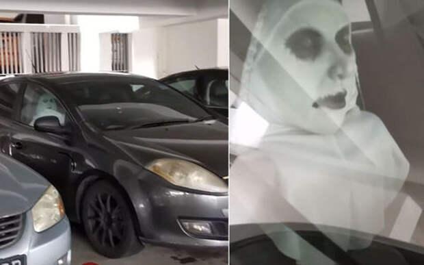 «Страшный» способ защиты автомобиля: пугало на новый лад