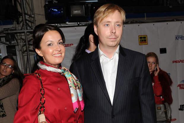 Телеведущий Александр Масляков с супругой Ангелиной. Фото: © EAST NEWS