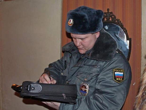 Пьяный москвич напал на полицейского во время обхода