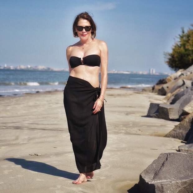 пляжные платья и туники для женщин после 40-50 лет фото 8