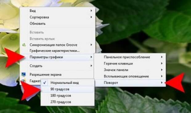 Что делать если перевернулся экран на ноутбуке или ПК