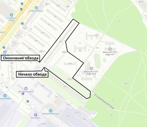 Обход территории пройдет через три двора на Ярославке