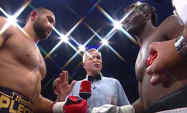 Чемпион из Африки вышел на русского Тайсона и продержался 20 секунд