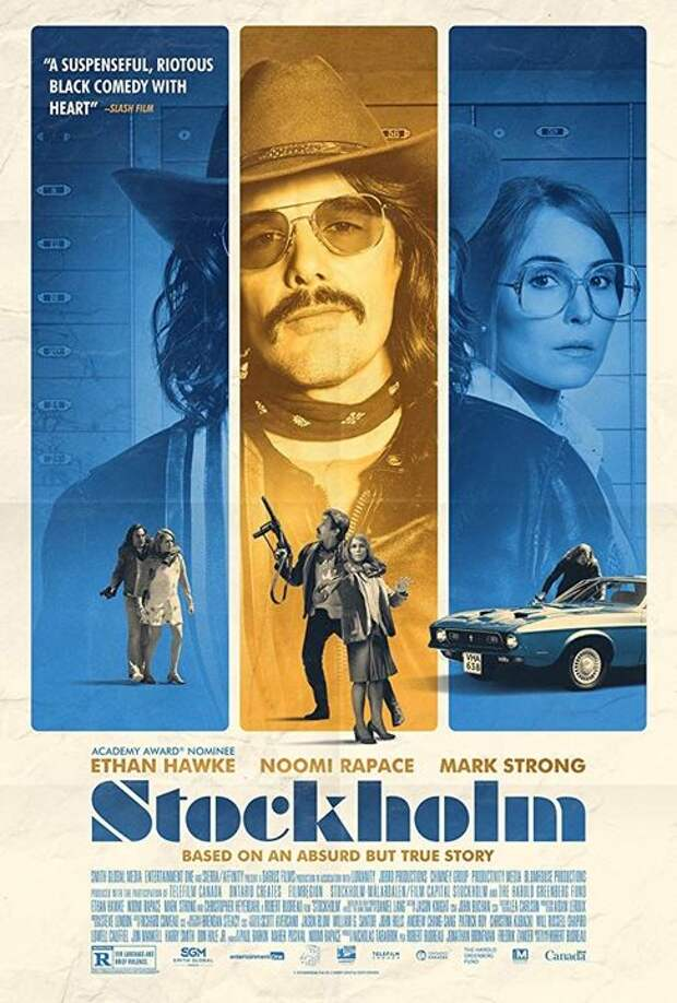 Новый трейлер к фильму «Однажды в Стокгольме»