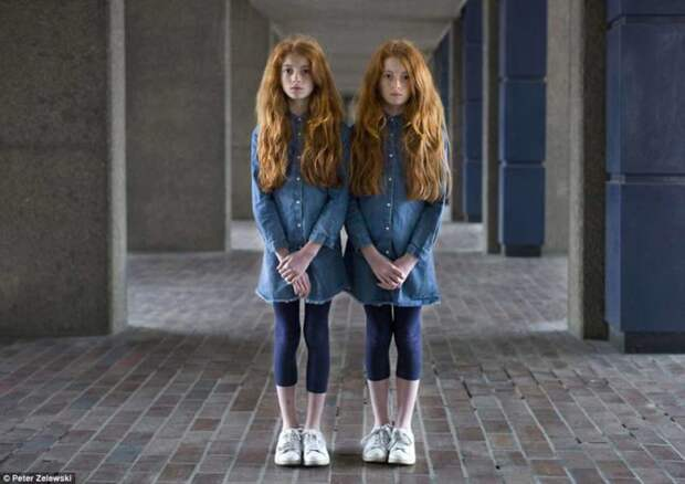 Такие похожие, нотакие разные: 20 невероятных портретов близнецов