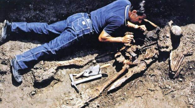 Итальянские археологи опознали тело человека, погибшего 2 тыс. лет назад в Геркулануме