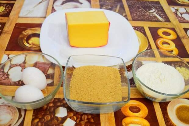 Ингредиенты: Сырные палочки, видео, еда, к пиву, рецепт, своими руками