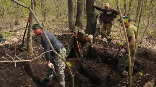 Мордовские поисковики подняли останки 15 бойцов ВОВ