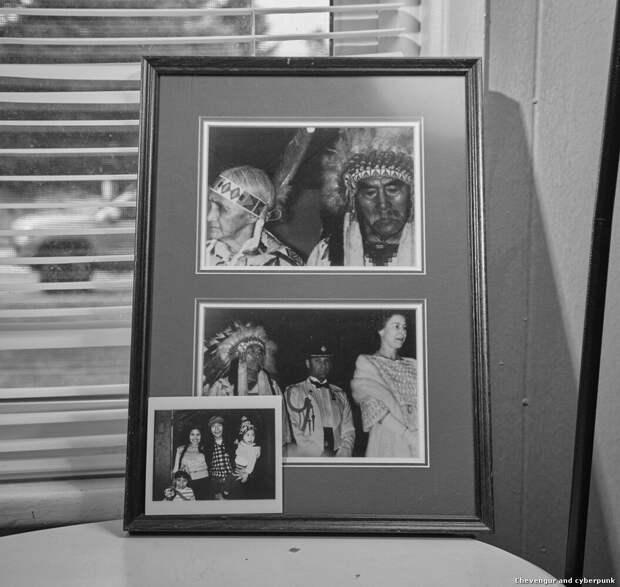 Бабушка Луизы, американская индианка и набожная католичка, предупреждала ее о злых духах
