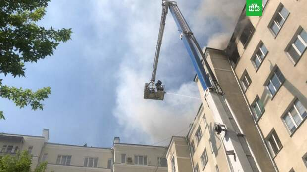 Открытое горение в екатеринбургской многоэтажке ликвидировано