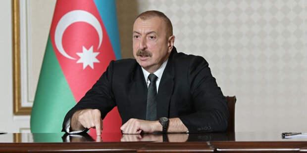 Алиев обратился к народу