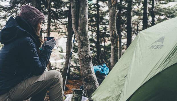 Карелия вошла в тройку популярных мест отдыха с палатками