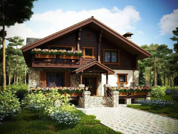 Какой же лучше строить дом? Из какого материала и какой планировки? В итоге выбрали совсем не то, о чем изначально мечтали.