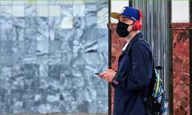 Замоскворецкая линия стала одним из лидеров по количеству проданных масок в метро Фото с сайта mos.ru