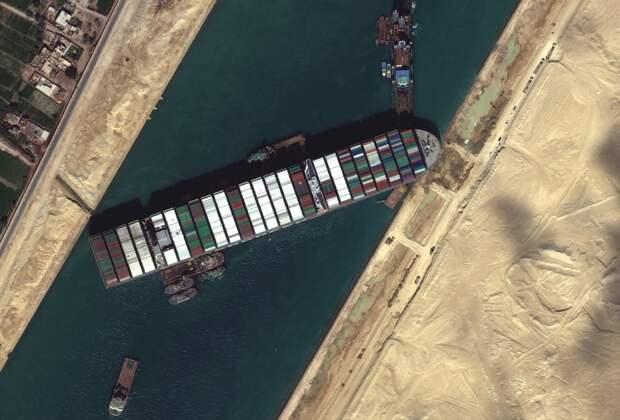 Начались работы по расширению Суэцкого канала