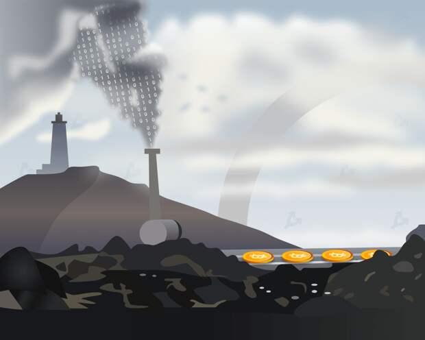 Эксперты назвали биткоин более экологичным, чем нефтедоллар